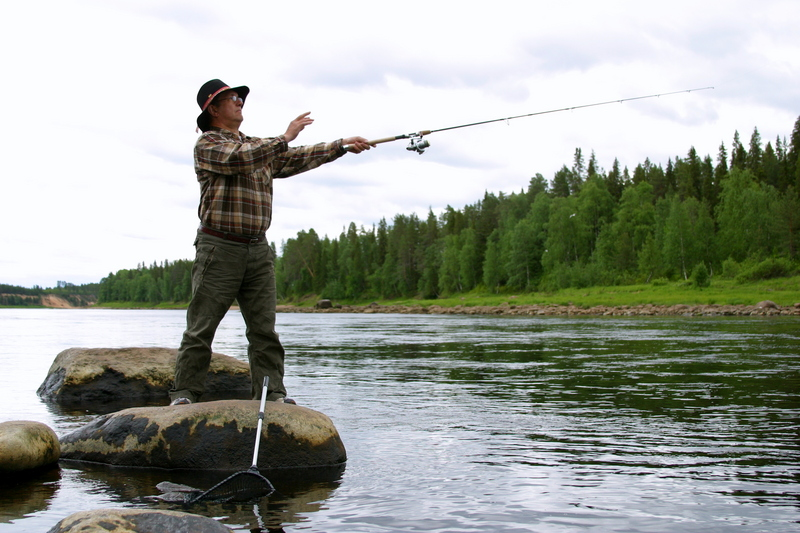 Рыбалка для двоих в спб